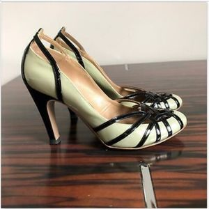 FERRAGAMO Patent Leather High Heel SZ 6.5